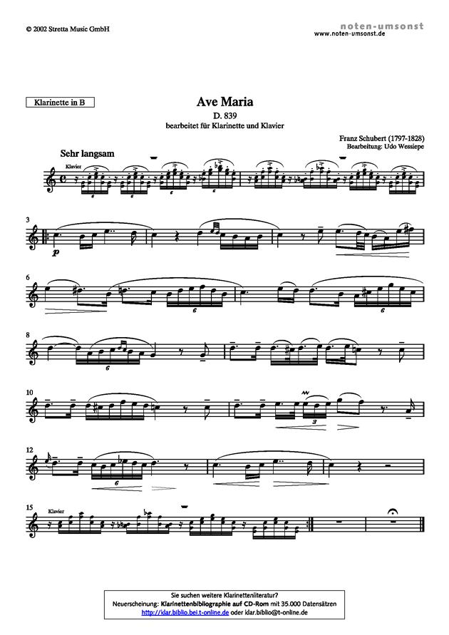 悲伤的圣母玛利亚钢琴谱 第3页
