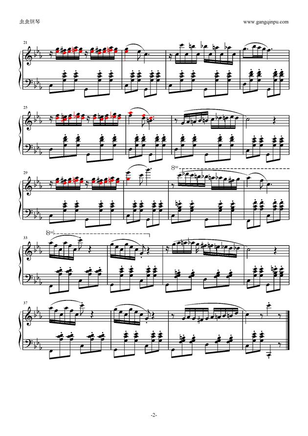 Micmacs A La Gare钢琴谱 第2页