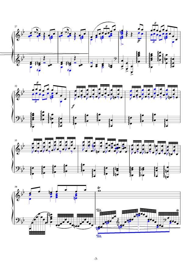 summer holiday 2钢琴谱 第3页