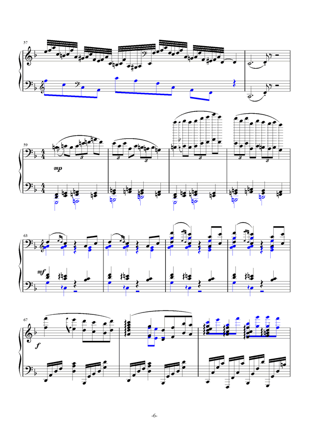 summer holiday 2钢琴谱 第6页