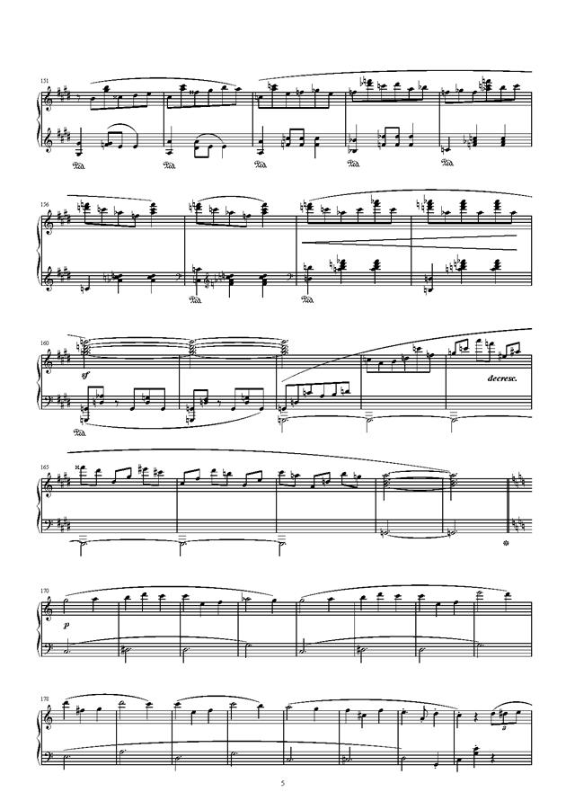 琴键上的游乐园钢琴谱 第5页