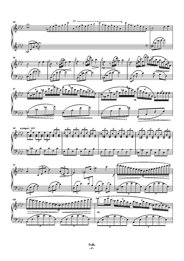 兔子之歌钢琴谱 第3页