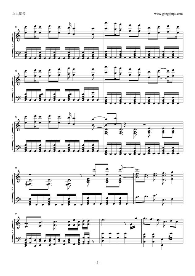冠OP my dearest 简化版, 罪恶王冠OP my dearest 简化版钢琴谱,