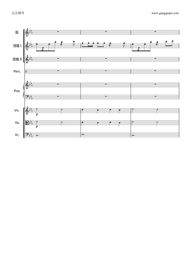 欢沁钢琴谱 第11页