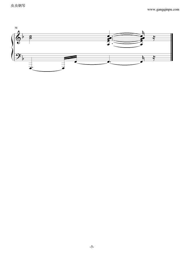 七色シンフォニ�`钢琴谱 第5页