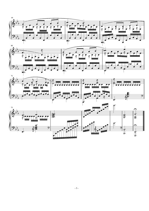 Etude Op.24 No.2钢琴谱 第5页