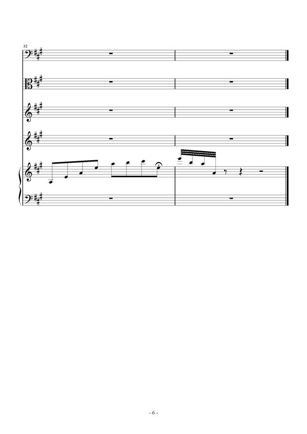 Tender Feeling , 总谱 刀剑神域ost A Tender Feeling 钢琴谱, 总谱