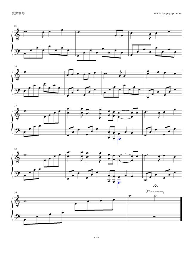 天空之城C调简改版,天空之城C调简改版钢琴谱,天空之城C调简改