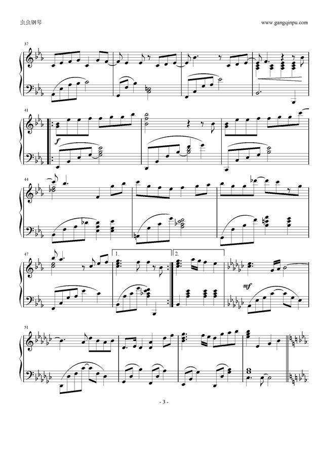 浮生未歇,浮生未歇钢琴谱,浮生未歇钢琴谱网,浮生未歇钢琴谱大
