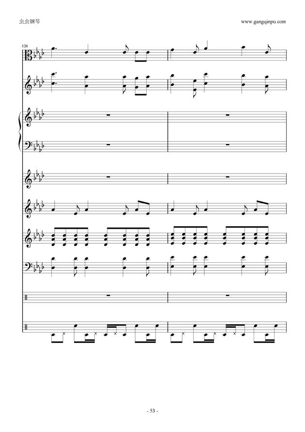 刀剑神域钢琴谱 第53页