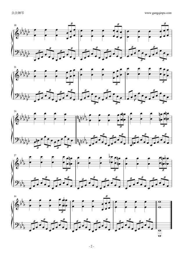 Maigo.clover钢琴谱 第2页