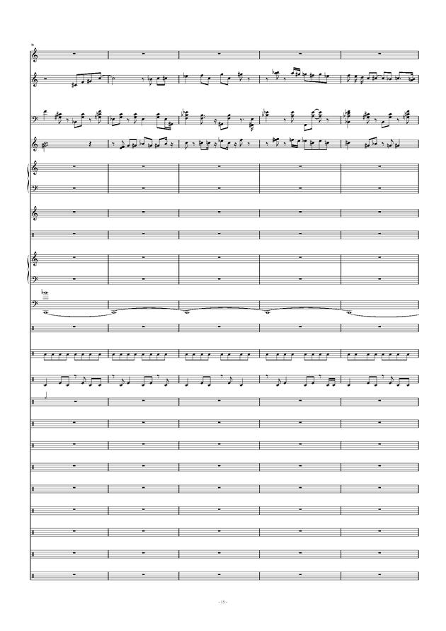 Don't Don't钢琴谱 第15页