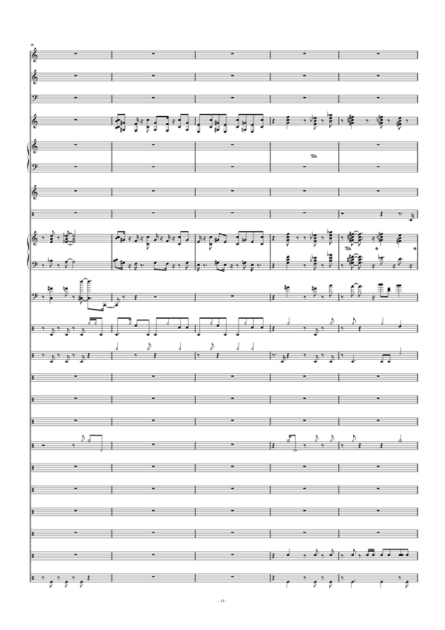 Don't Don't钢琴谱 第19页