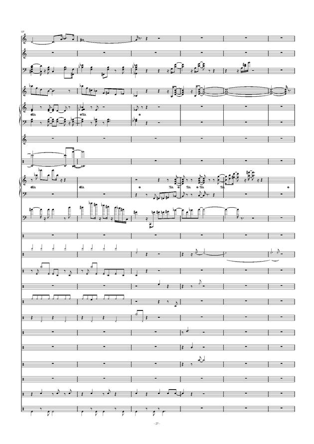 Don't Don't钢琴谱 第27页