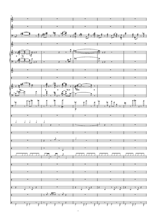Don't Don't钢琴谱 第3页