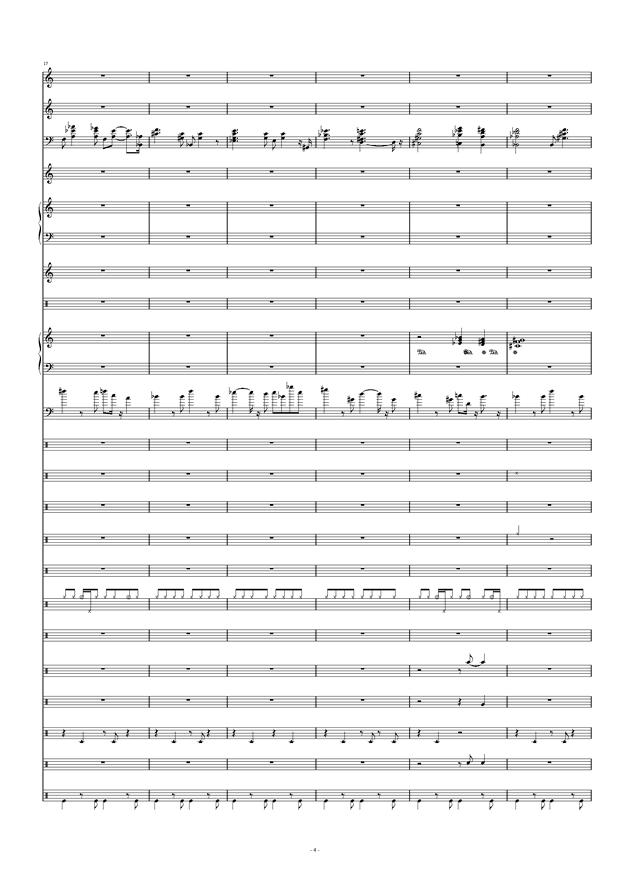 Don't Don't钢琴谱 第4页