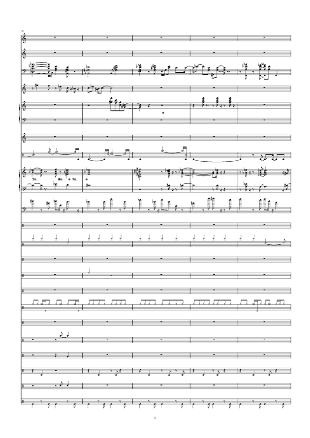 Don't Don't钢琴谱 第8页