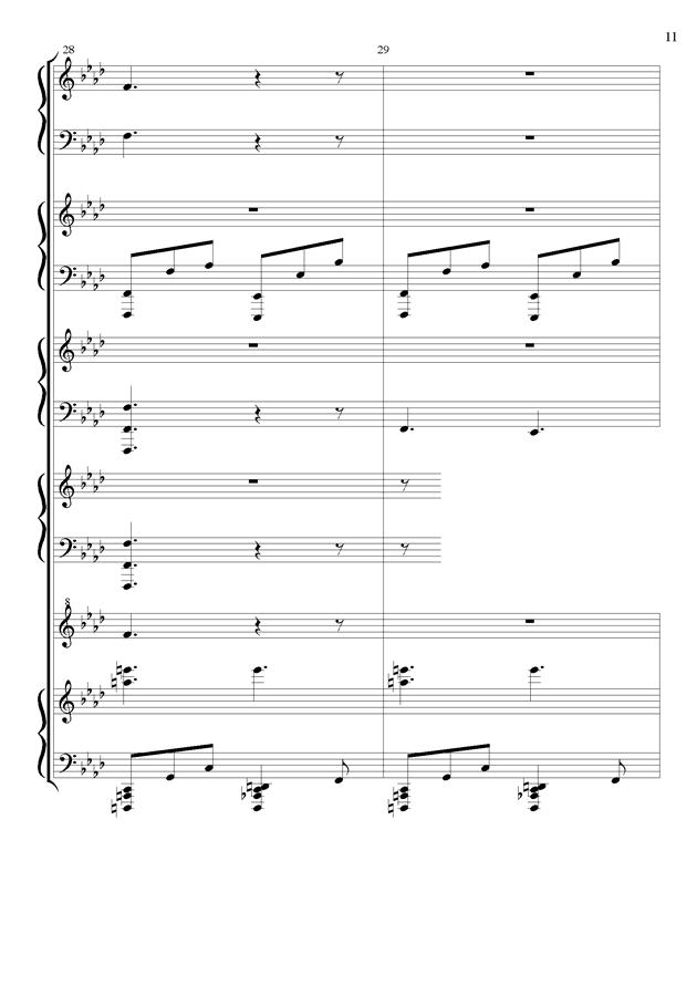 丝绸之路钢琴谱 第11页