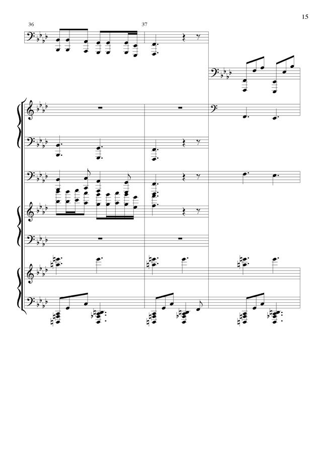 丝绸之路钢琴谱 第15页