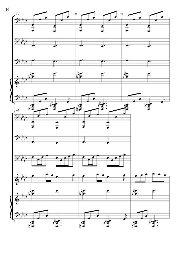 丝绸之路钢琴谱 第16页