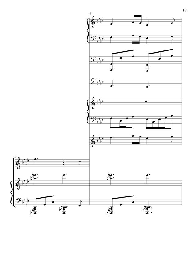 丝绸之路钢琴谱 第17页