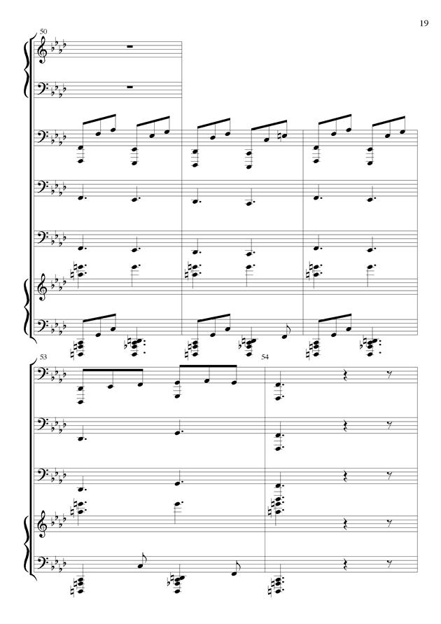丝绸之路钢琴谱 第19页