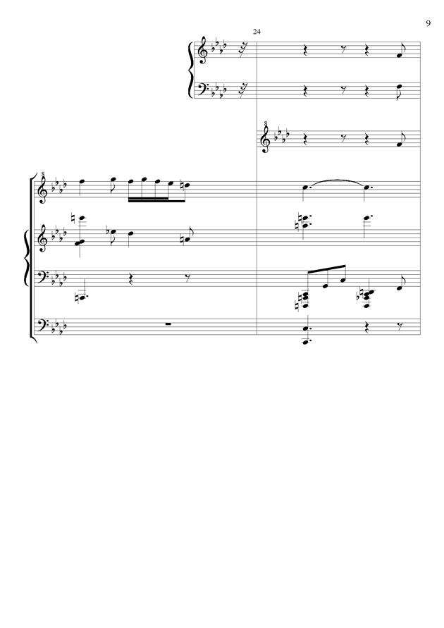 丝绸之路钢琴谱 第9页