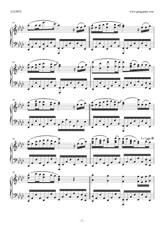Your Best Friend钢琴谱 第2页