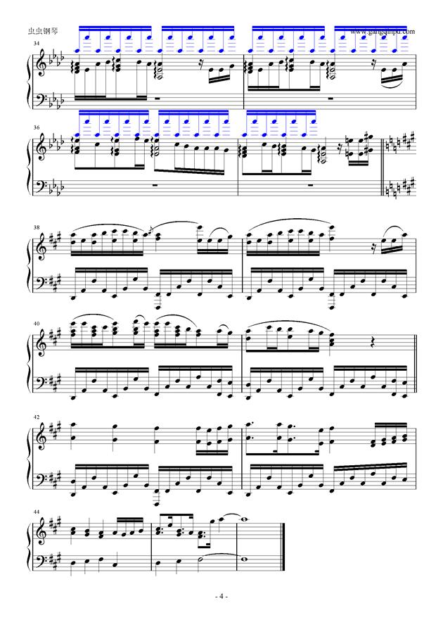 Your Best Friend钢琴谱 第4页