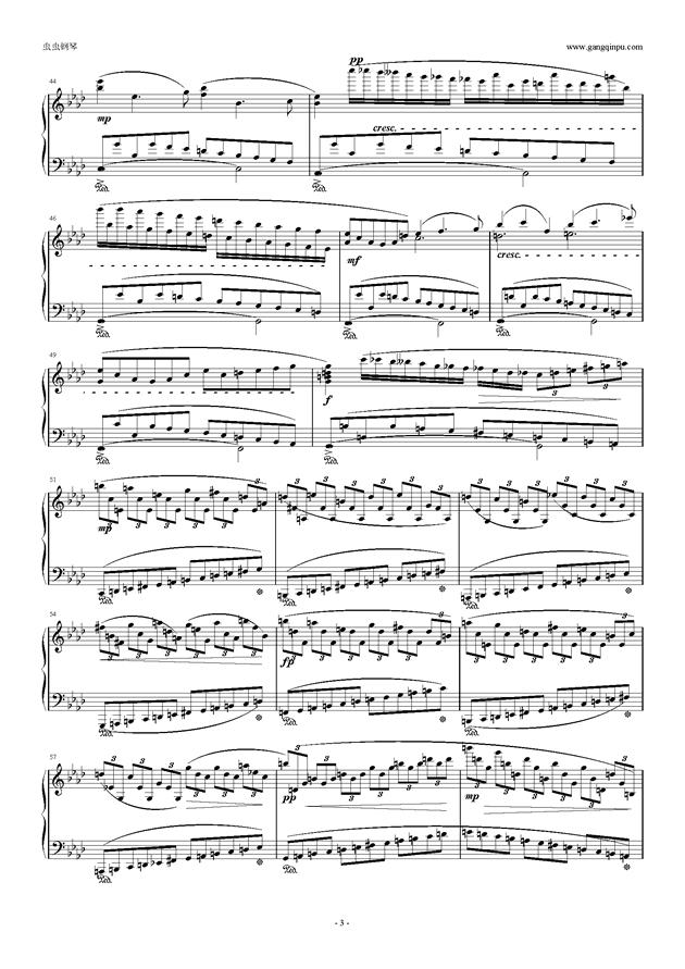 只要你在我身边钢琴谱 第3页