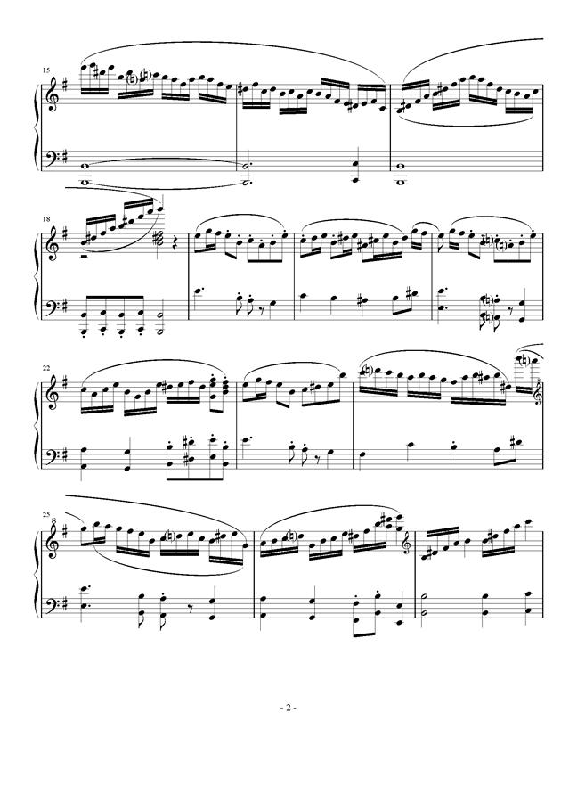 Toy war钢琴谱 第2页