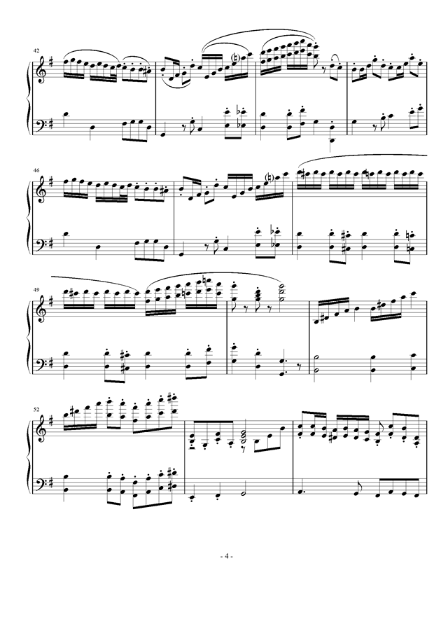 Toy war钢琴谱 第4页