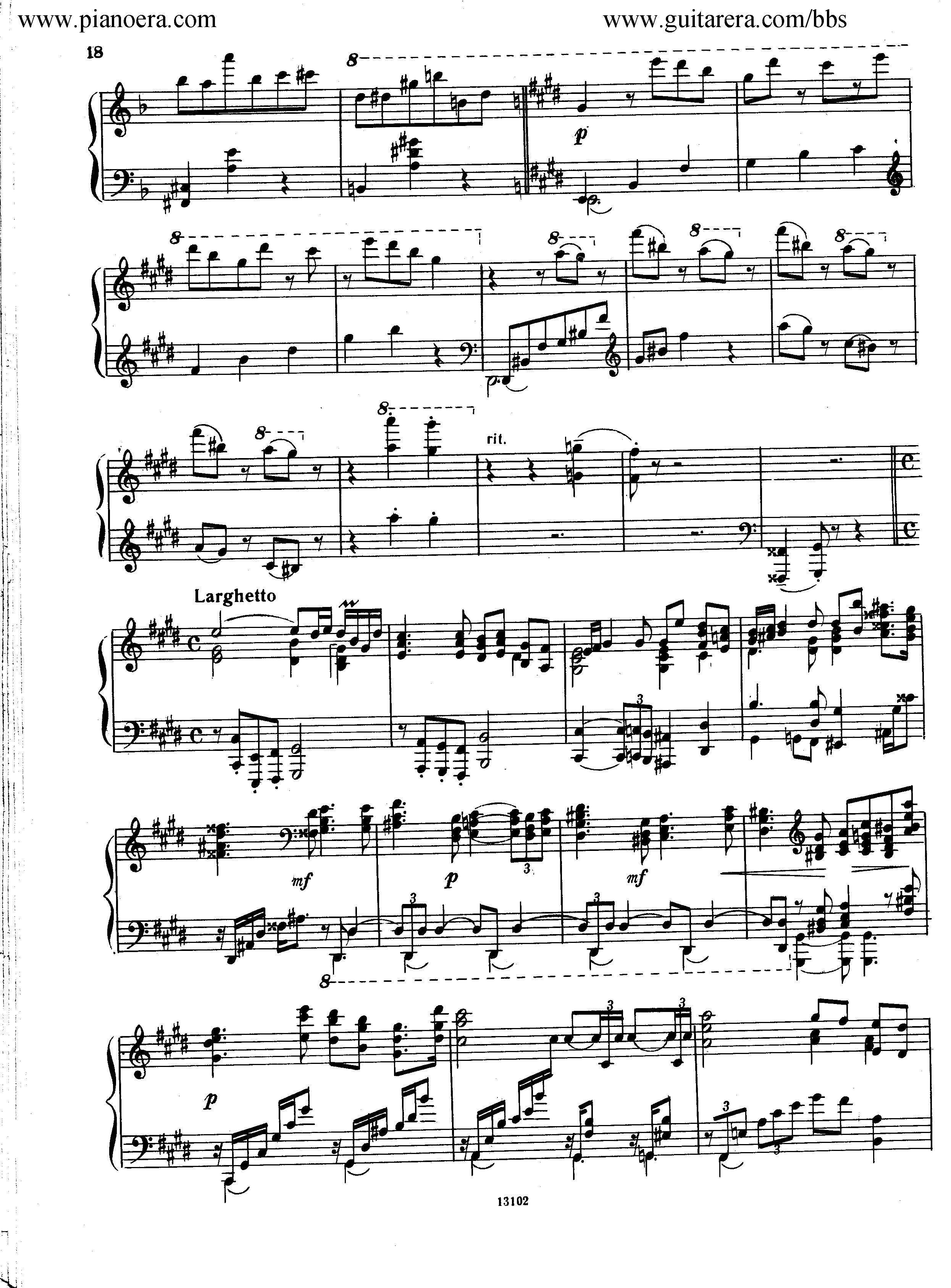 Nikolai Kapustin Variations Op. 41钢琴谱 第10页