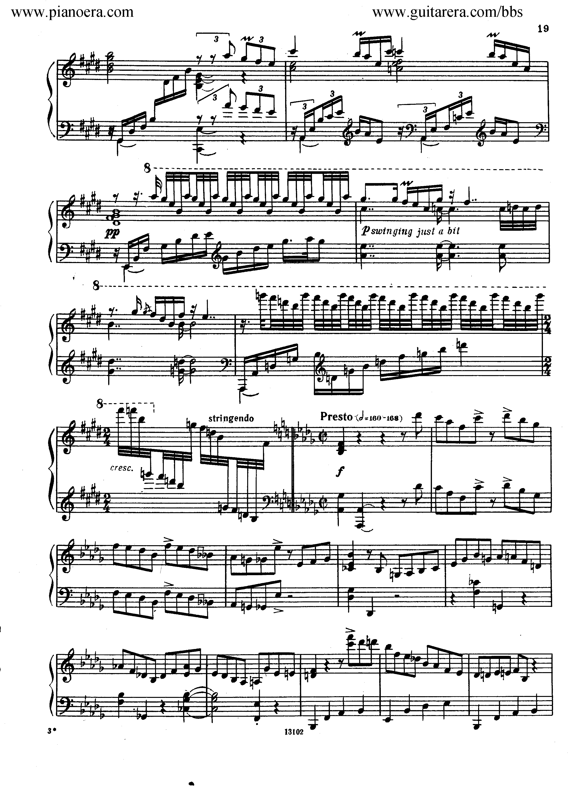 Nikolai Kapustin Variations Op. 41钢琴谱 第11页
