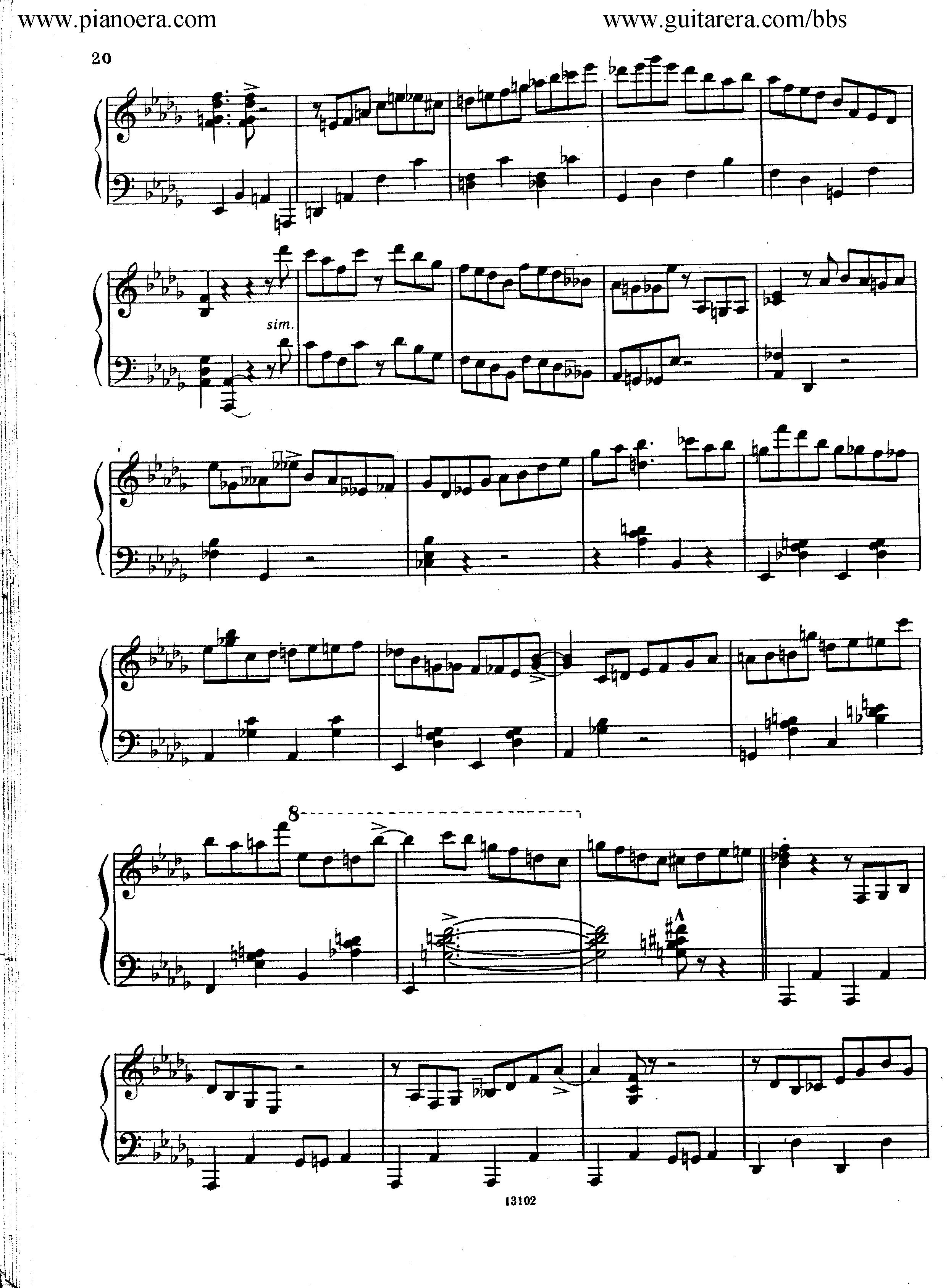 Nikolai Kapustin Variations Op. 41钢琴谱 第12页