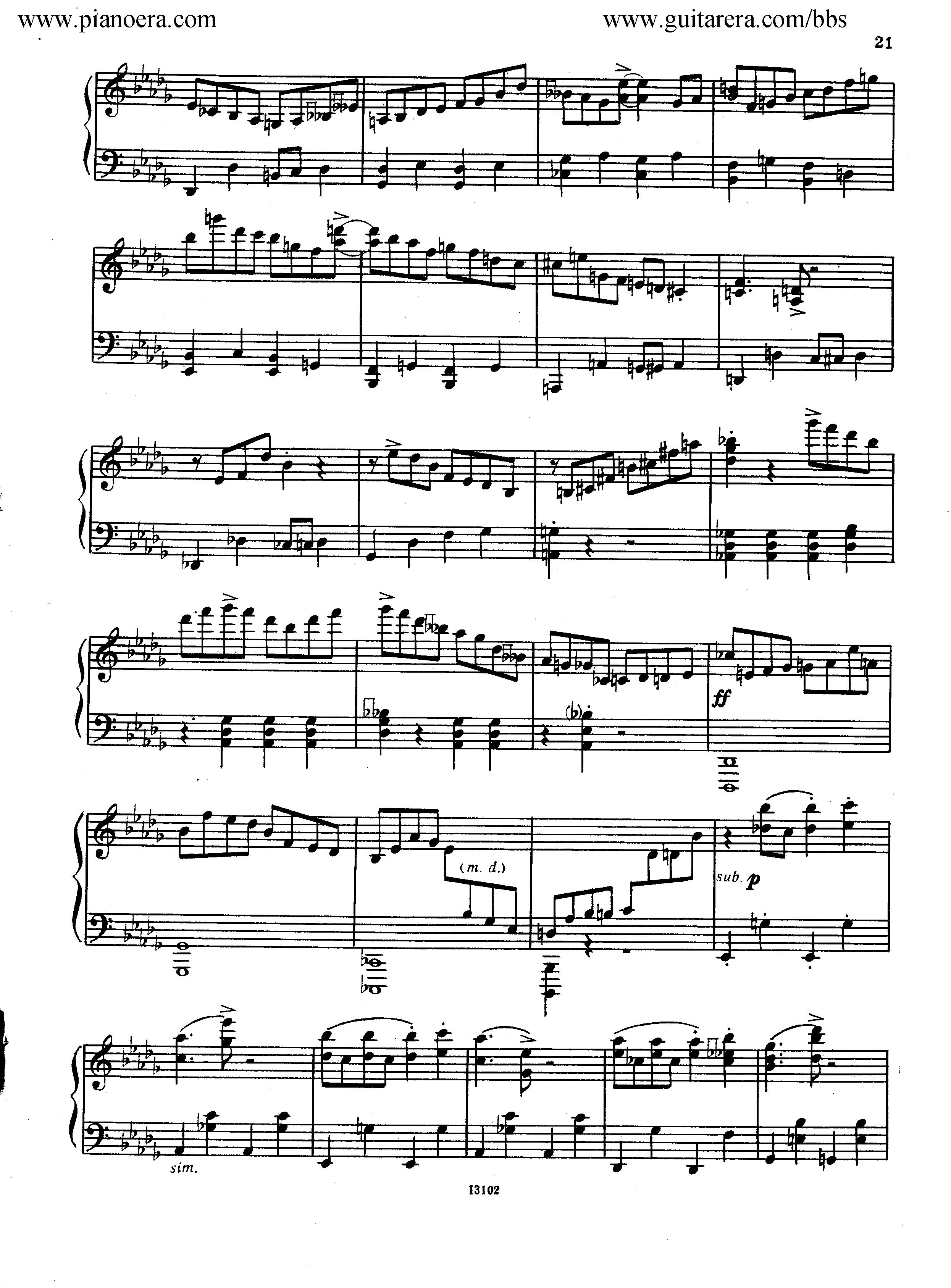 Nikolai Kapustin Variations Op. 41钢琴谱 第13页