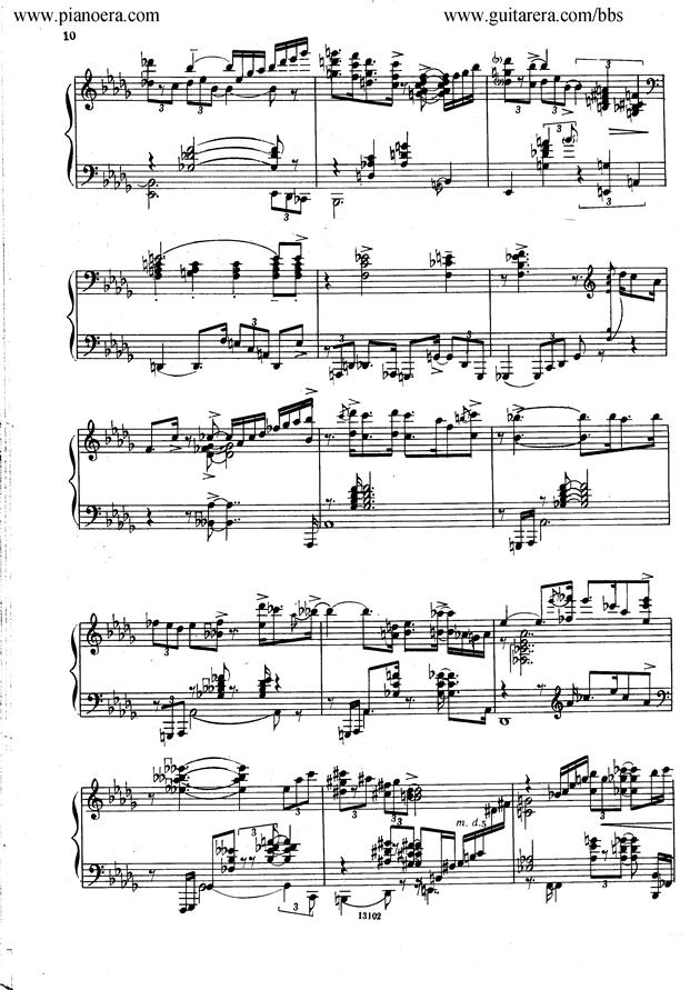 Nikolai Kapustin Variations Op. 41钢琴谱 第2页
