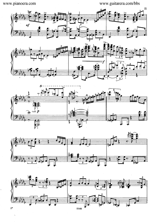 Nikolai Kapustin Variations Op. 41钢琴谱 第3页