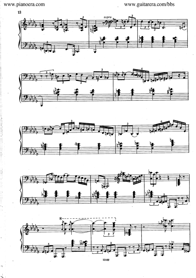 Nikolai Kapustin Variations Op. 41钢琴谱 第4页