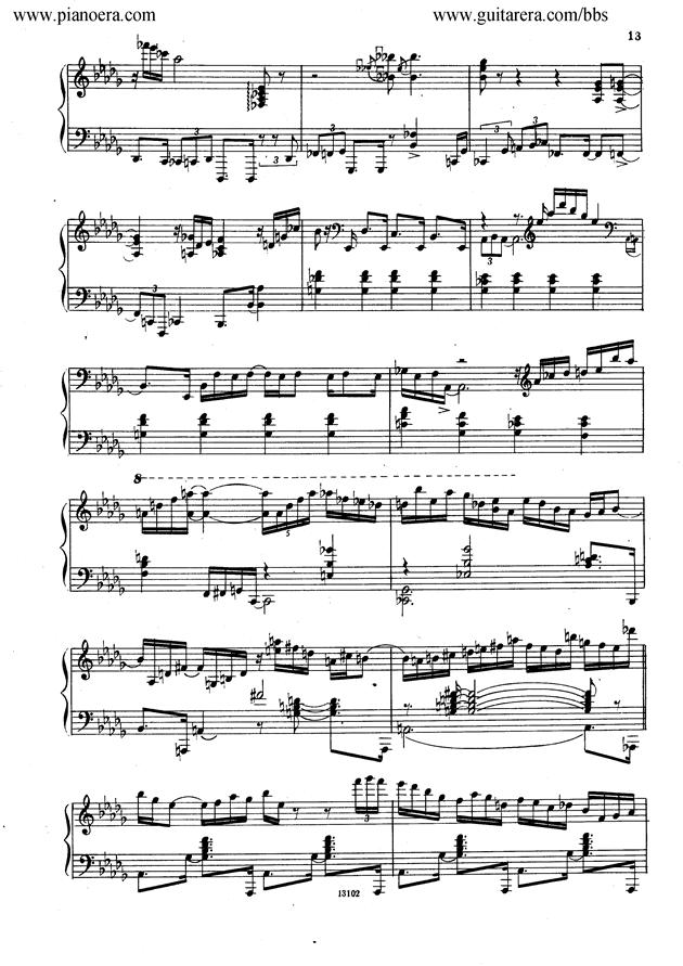 Nikolai Kapustin Variations Op. 41钢琴谱 第5页