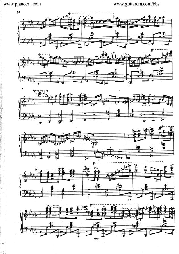Nikolai Kapustin Variations Op. 41钢琴谱 第6页