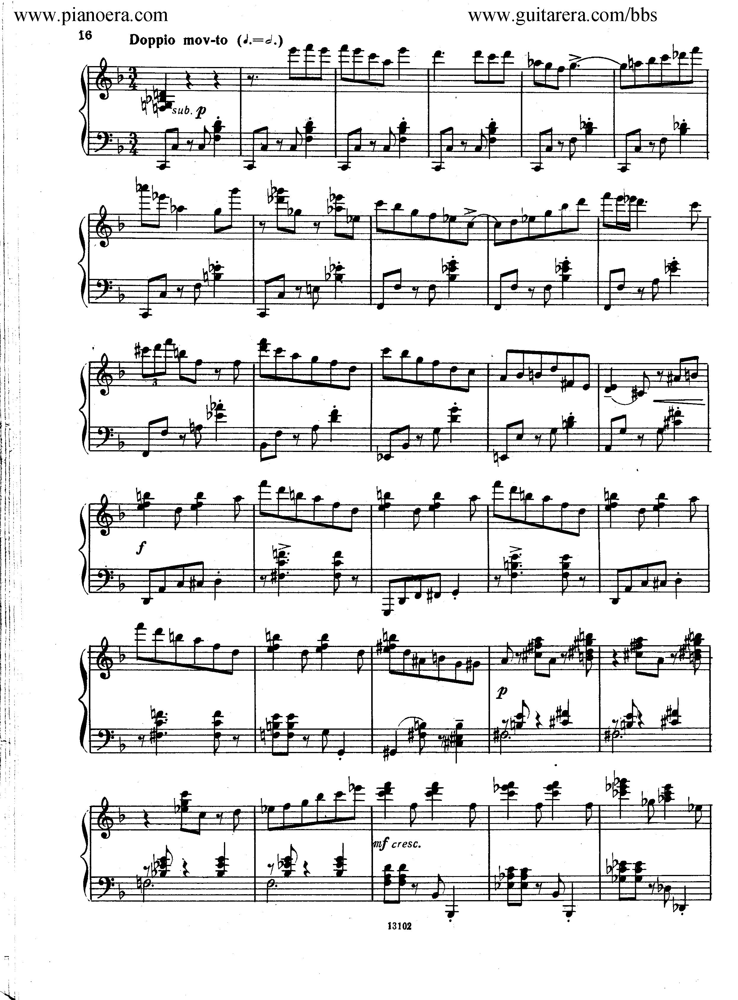 Nikolai Kapustin Variations Op. 41钢琴谱 第8页