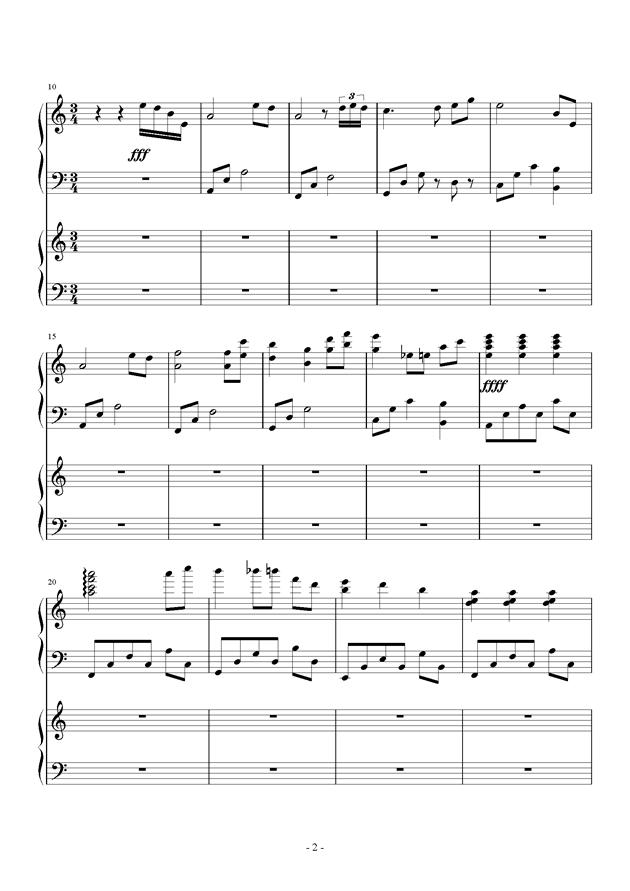 童之魂钢琴谱 第2页