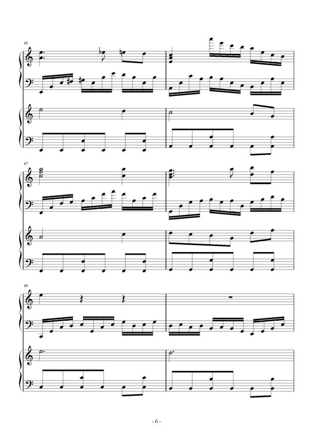 童之魂钢琴谱 第6页