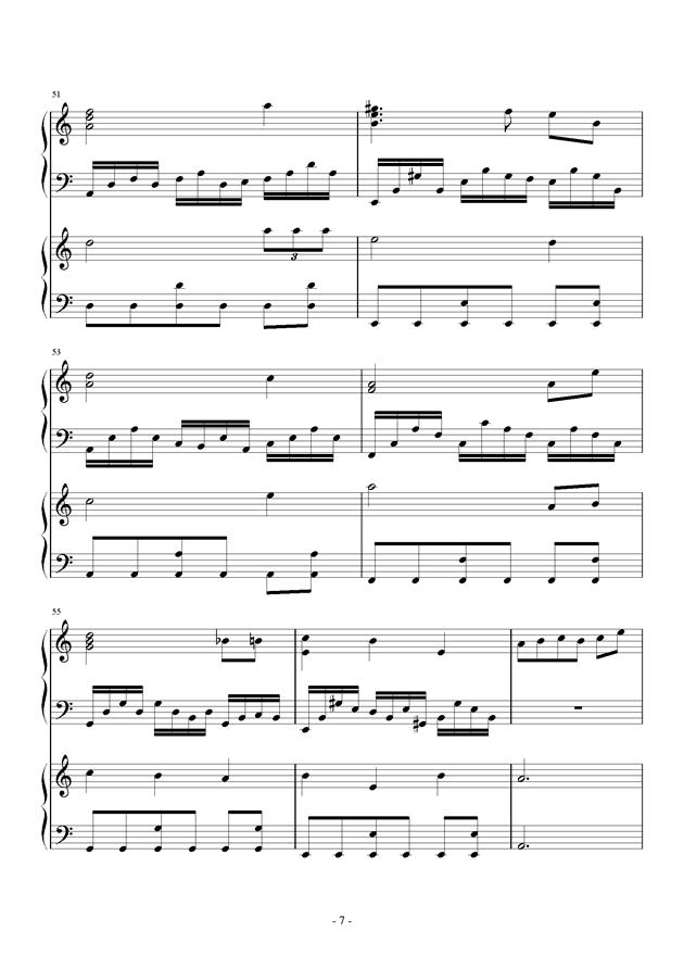 童之魂钢琴谱 第7页