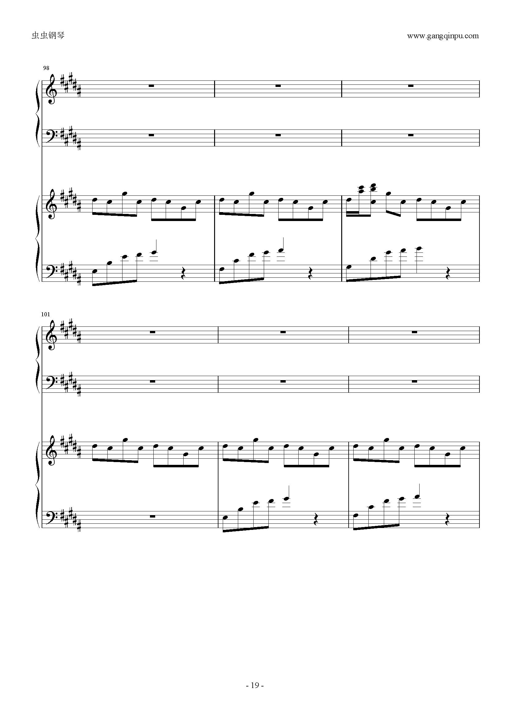 fiover dance钢琴简谱