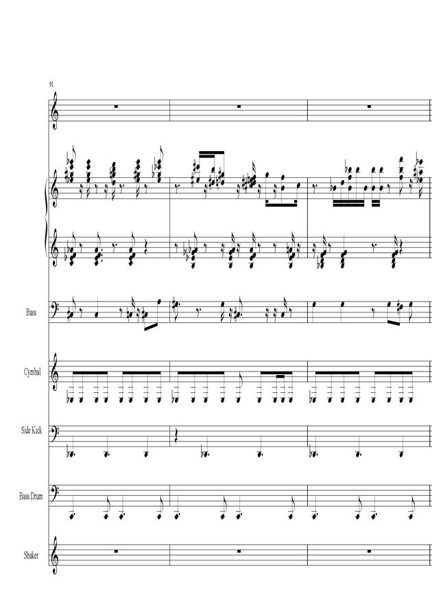 Acai na tigela钢琴谱 第19页