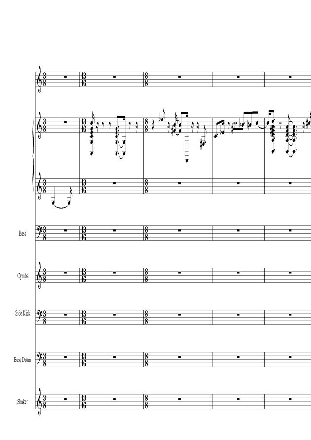 Acai na tigela钢琴谱 第2页