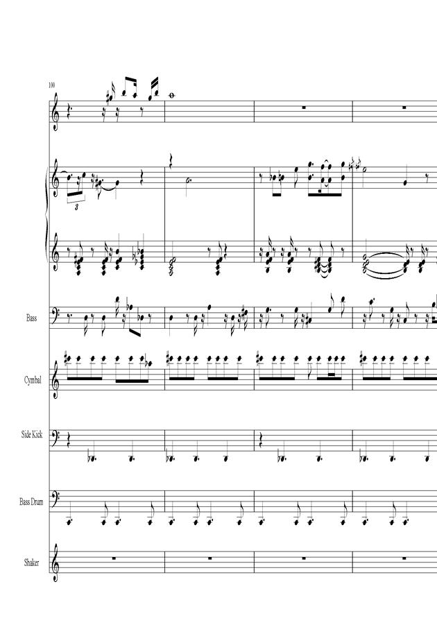 Acai na tigela钢琴谱 第21页