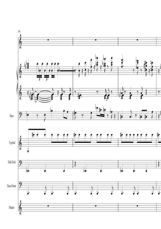 Acai na tigela钢琴谱 第22页
